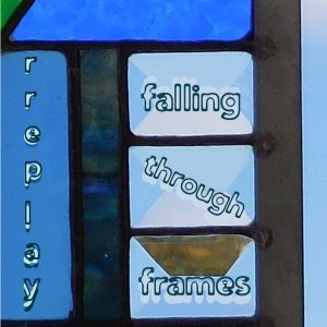 Falling Through Frames - blue cover -Distro 10-noblur